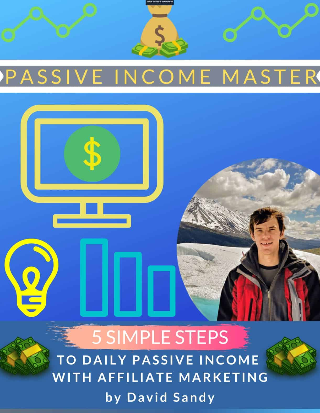 Passive Income Master E-Book Cover | David Sandy Official