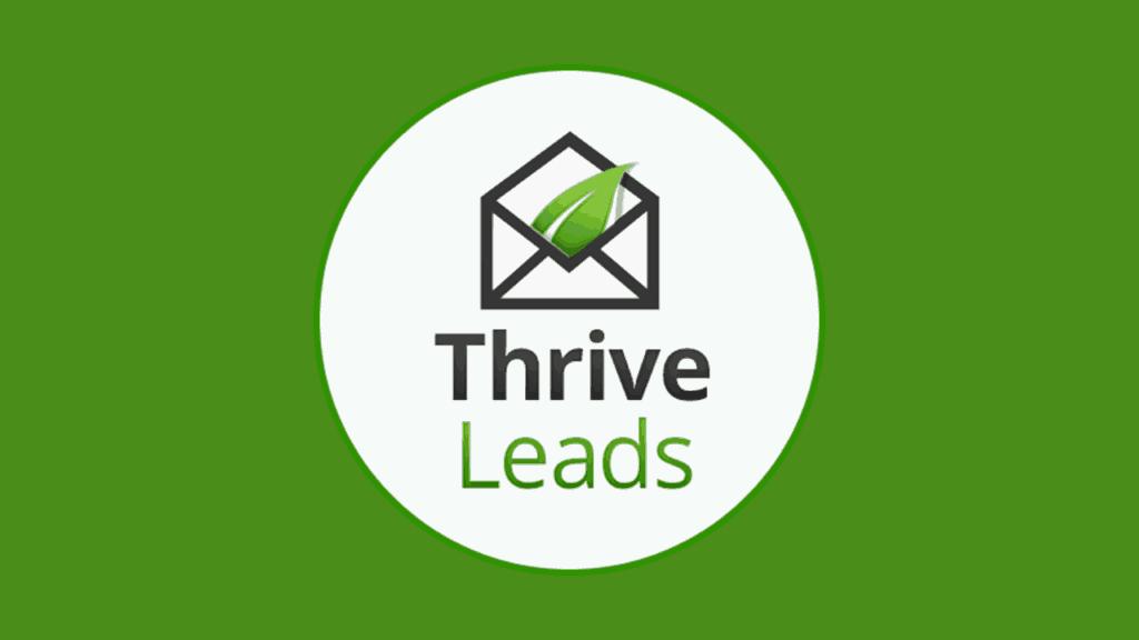 Thrive Leads Top WordPress Plugin #1