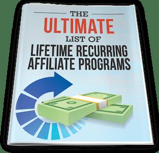 One Funnel Away Challenge Bonus 5: Ultimate List of Lifetime Recurring Affiliate Programs
