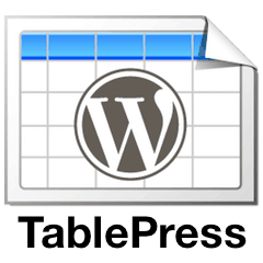 TablePress Top WordPress Plugin for Table Creation