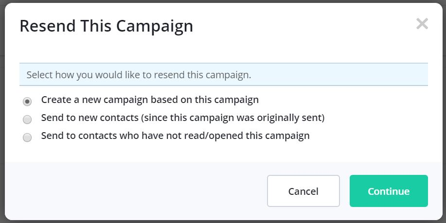 Resending Campaigns with ActiveCampaign