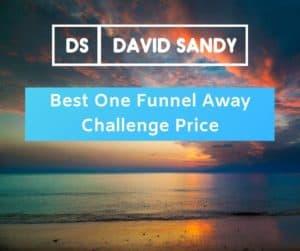 Best One Funnel Away Challenge Price [MASSIVE Discount!]