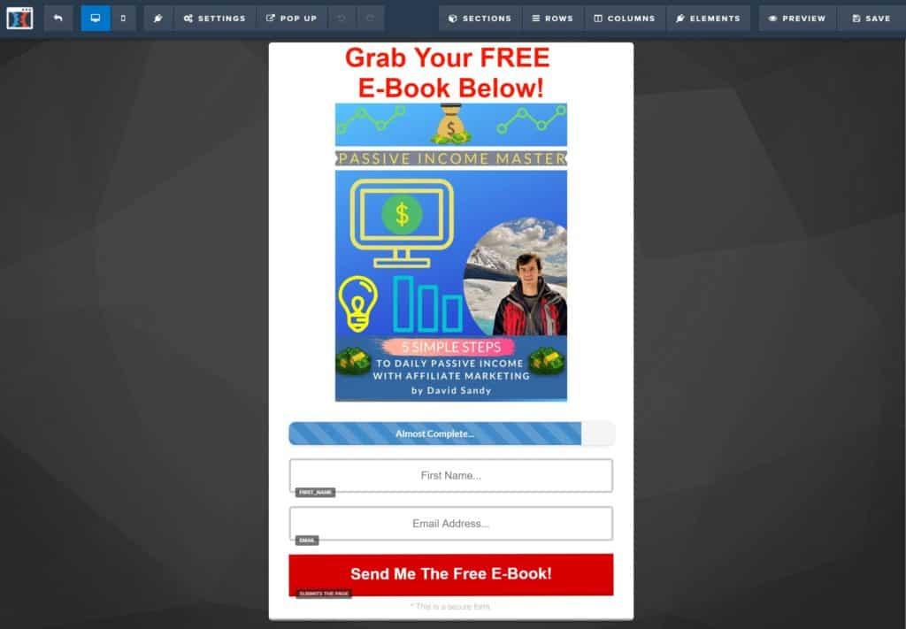 ClickFunnels Sales Funnel Editor