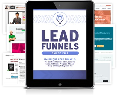 Lead Funnels Swipe File - David Sandy Official