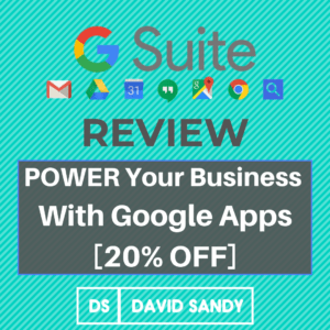 G Suite Review: Power Your Business With Google Apps [20% OFF]