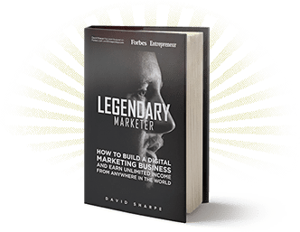 Legendary Marketer Book by Dave Sharpe