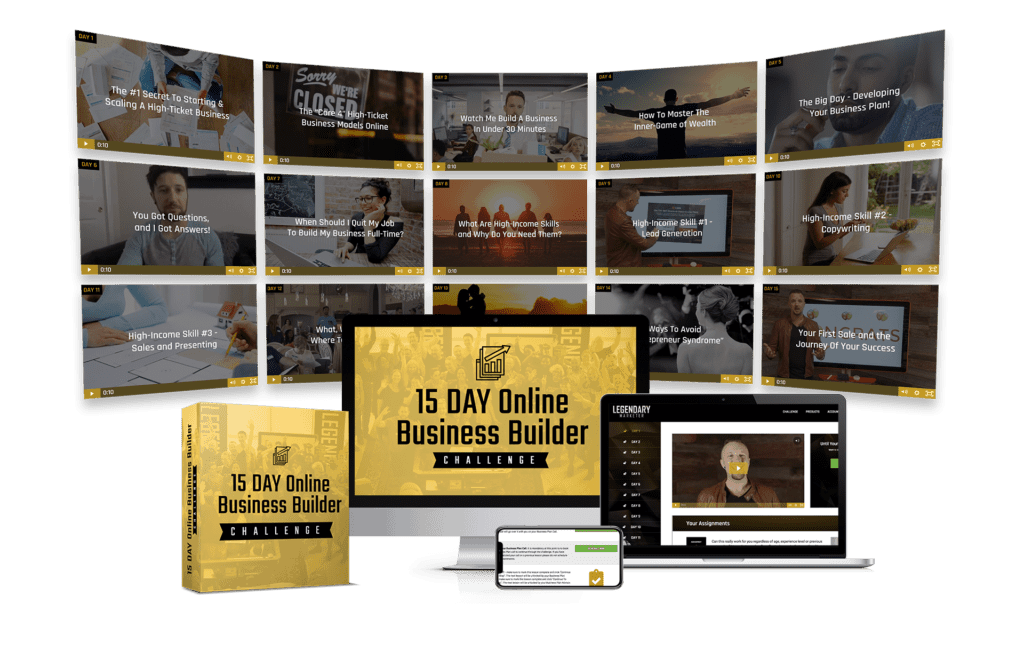 Legendary Marketer 15 Day Online Business Builder Challenge