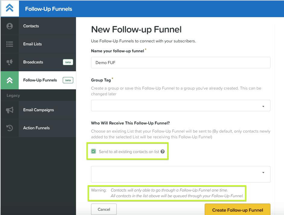 ClickFunnels Platinum Review: Follow Up Funnels