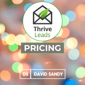 Thrive Leads Pricing