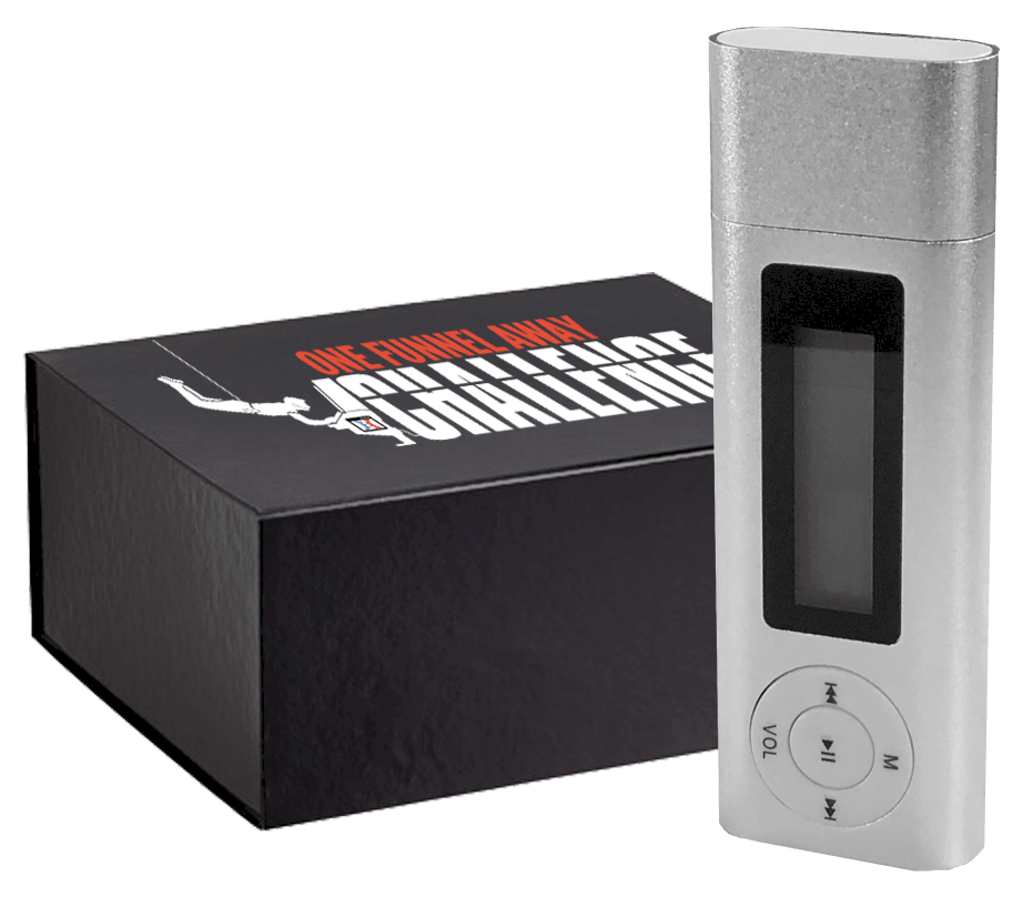 MP3 One Funnel Away Challenge Audio Player