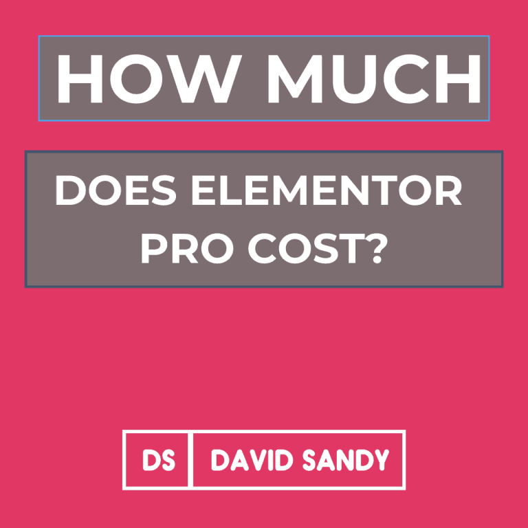 How Much Does Elementor Pro Cost