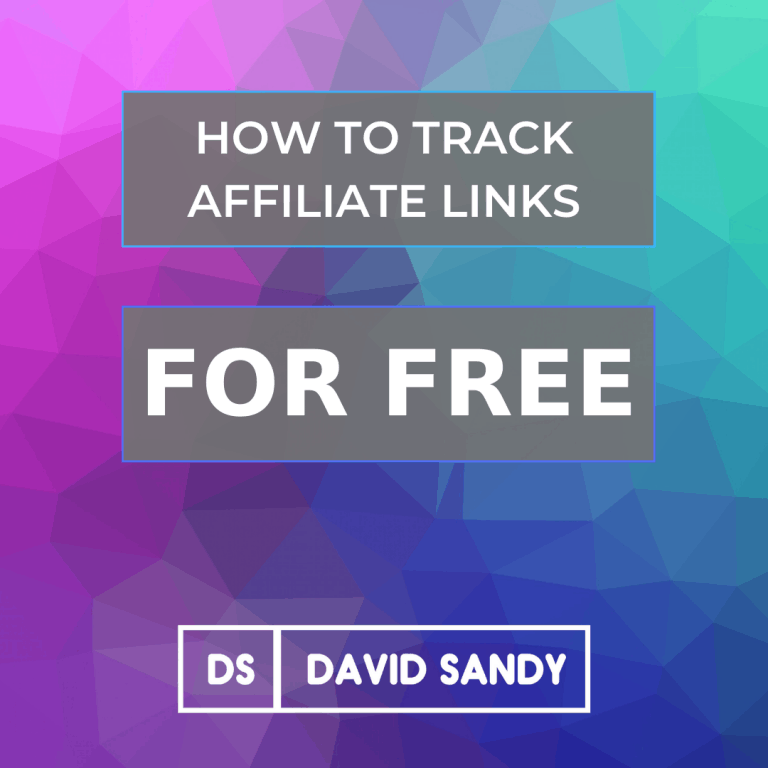 How To Track Affiliate Links For Free