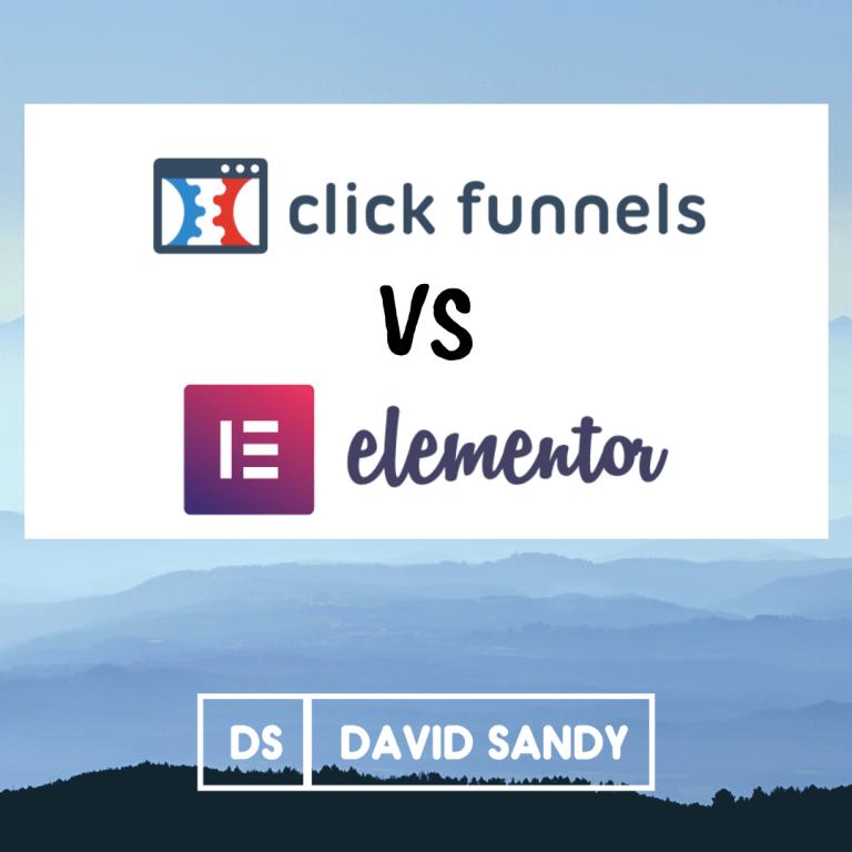 ClickFunnels vs Elementor Featured