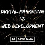 digital marketing vs web development